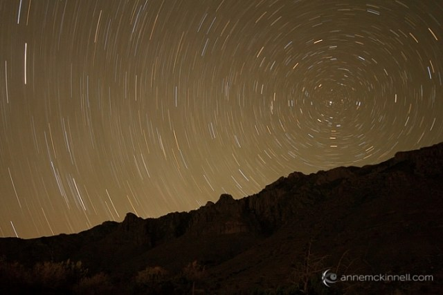 Star Trails in Guadalupe National Park
