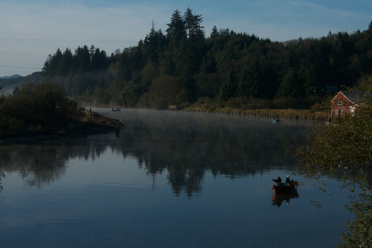 4 steps to creating images with more meaningful composition for Nehalem river fishing