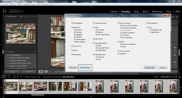 2015.09.25 Street Editing Tips Lightroom 015 sync check none