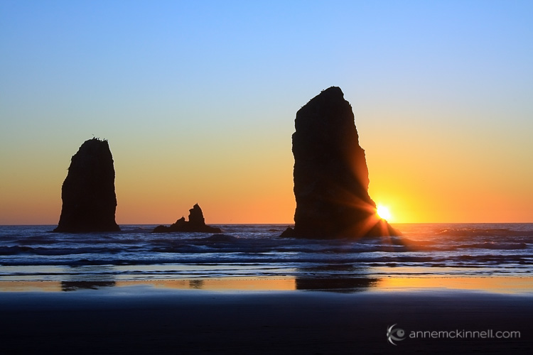 Canon Beach, Oregon by Anne McKinnell
