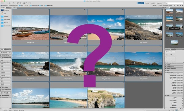 5 Starter Steps to Batch Processing using Adobe Bridge