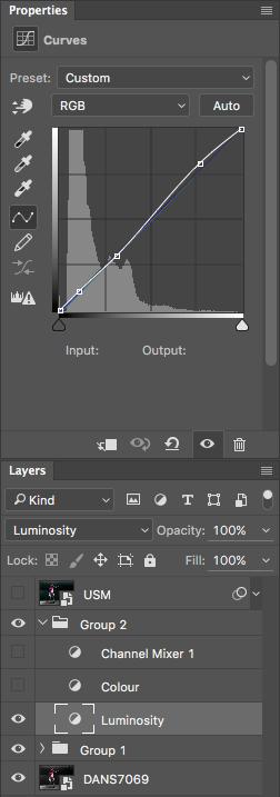 Contrast Curve Layer