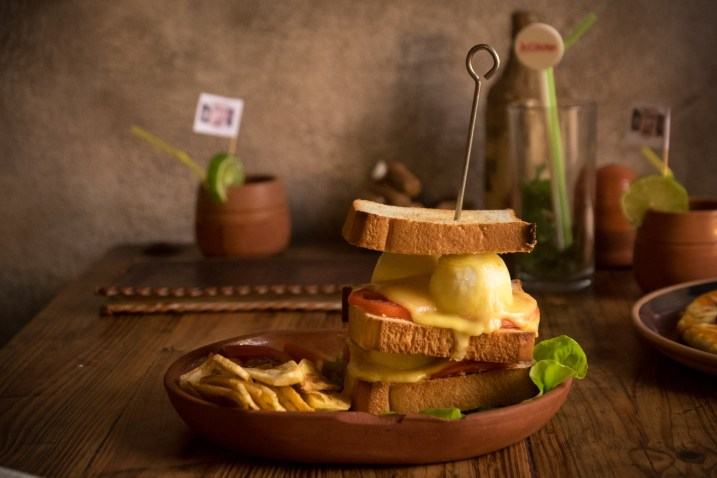 This is actually my photo taken of someone else's sandwich in Trinidad, Cuba. It just looked so amazing!