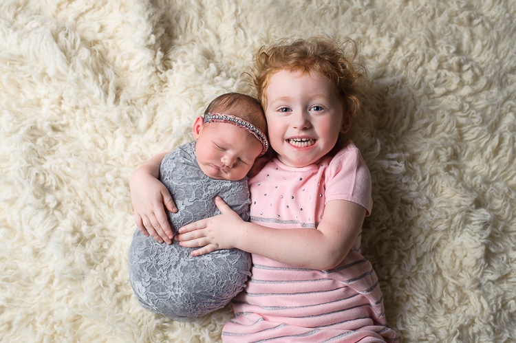 Newborn Sibling Photos