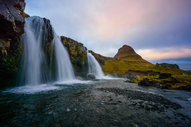 Kirkjufellsfoss, Iceland by Anne McKinnell