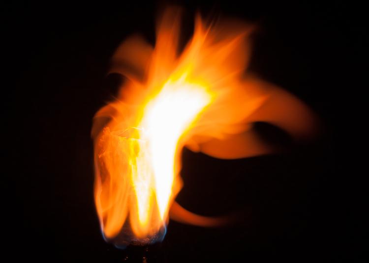dicas de fotografia de fogo de longa exposição
