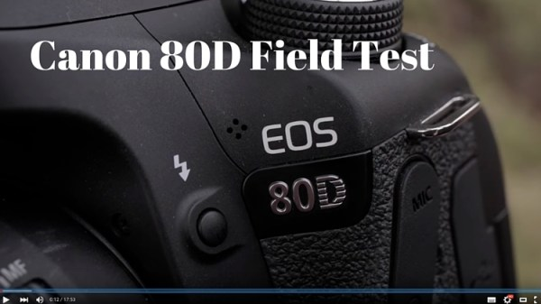 First Look and Field Test of the Canon 80D