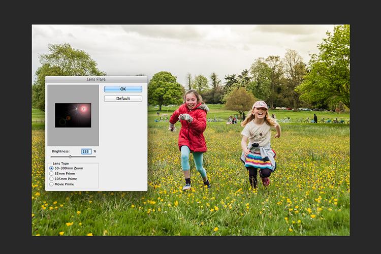 Filter-render-lens-flare