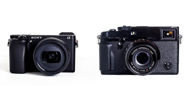 Side by Side Comparison: The Sony a6300 Versus Fujifilm X-Pro2