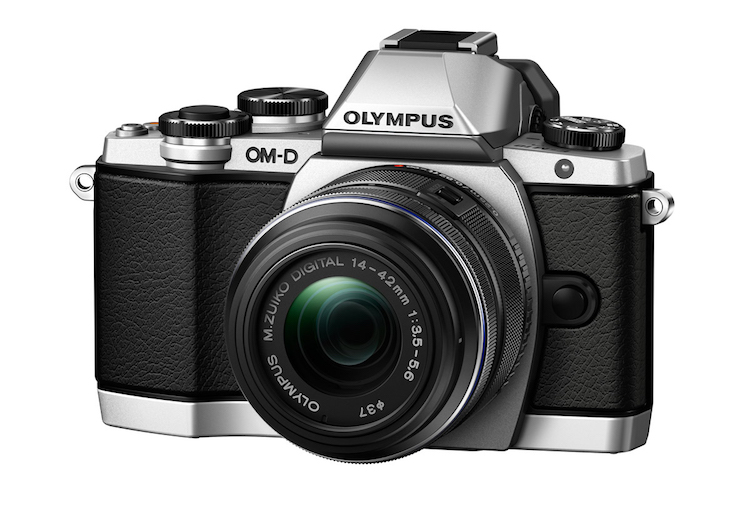 Image: The Olympus OM-D EM-10 is a micro four-thirds camera which means it has a smaller sensor size...