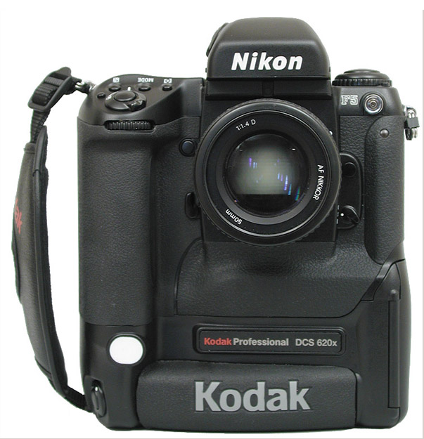 A 2MP DSLR from the year 2000, price tag was USD10,000