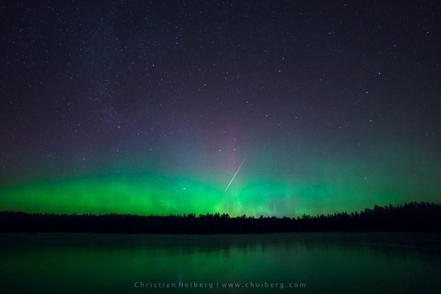 Lauarvann-Aurora-Metorite