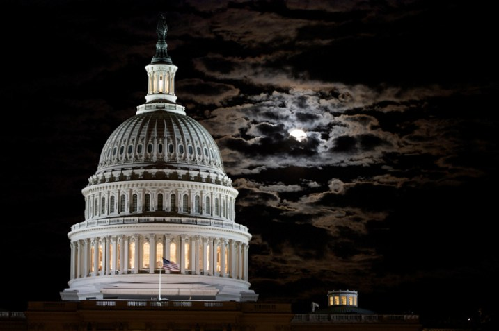 The Capital Building in Washington DC is stunning at night, and I wanted to capture the full moon rising behind it. This was the sixth night I made a trip to the monument. Persistence paid off.
