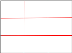 The rule of thirds 2