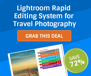 DEAL: Save 72% off Lightroom Editing System for Travel Photography