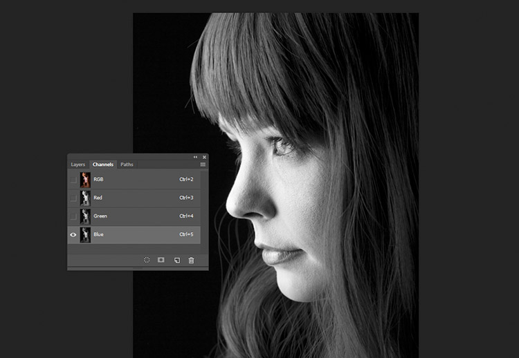black-and-white-conversions-in-photoshop-channels-bluechannel