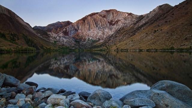 Convict Lake California by Anne McKinnell
