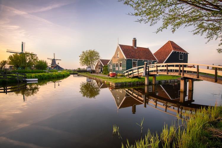 landscape photograph Zaanse Schaans, Netherlands