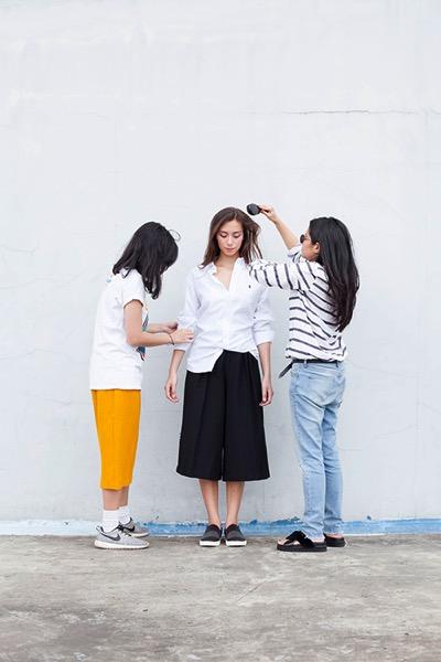 Hair Make Up fashion shoot