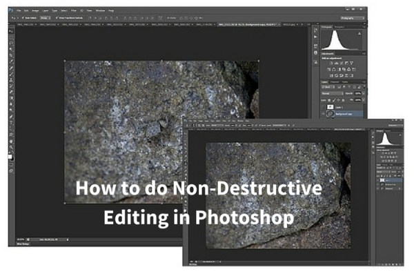 How to do Non-Destructive Editing in Photoshop