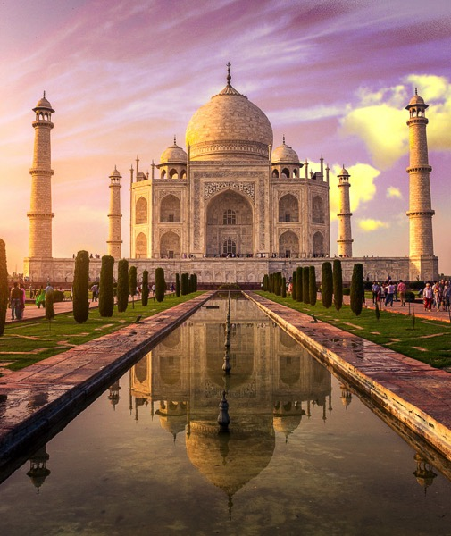 How to Create a Sun Flare in Photoshop - Taj Mahal