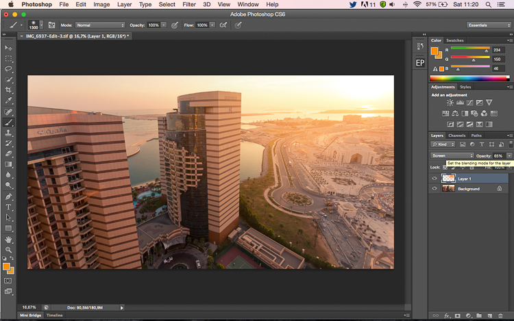 How to Create a Sun Flare in Photoshop