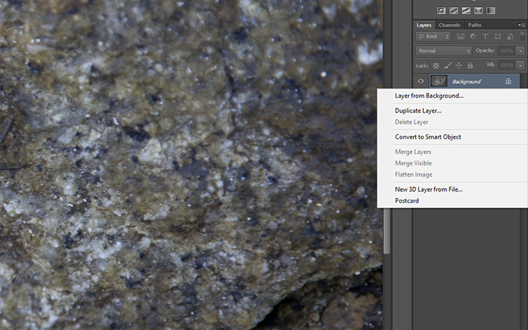 non-destructive editing duplicate layer