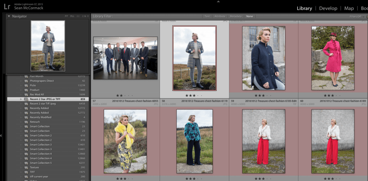 Creating and using smart collections in lightroom 11