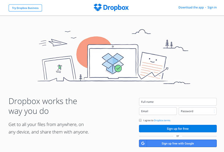 dropbox-online-photo-backup