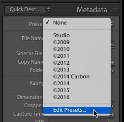 how to create a preset in lightroom 5