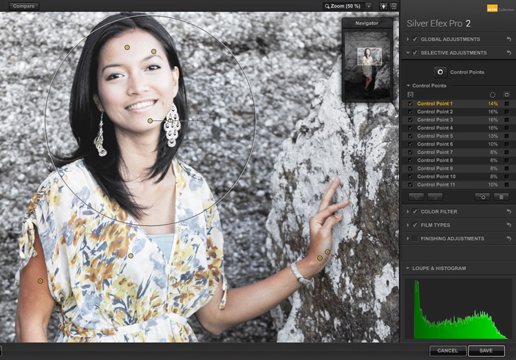 3 Ways Make Selective Color Portraits Using Lightroom and Silver Efex Pro 2