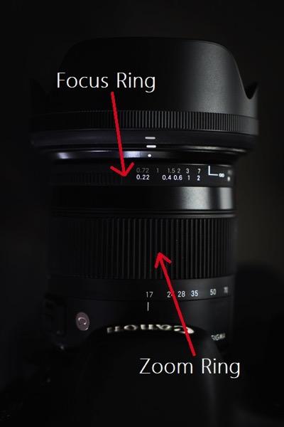 Zoom Focus Rings