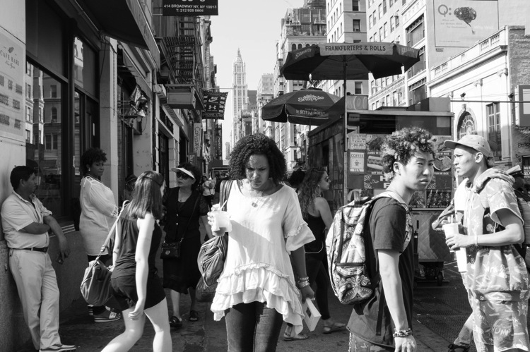Canal Street, New York Street Photography