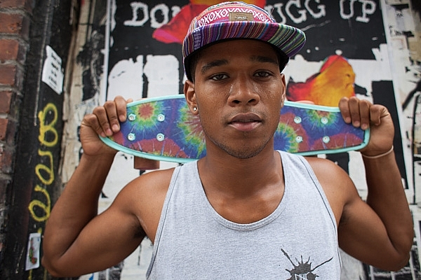 Skater, Street Portrait, New York Street Photography