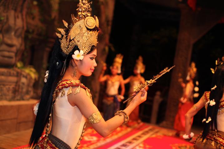 Apsara dancer creative photography project idea