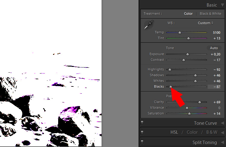 Lightroom Secret7 show clipping1