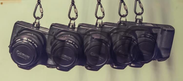 In camera multiple exposures 15