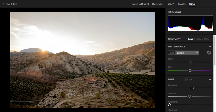 Lightroom web