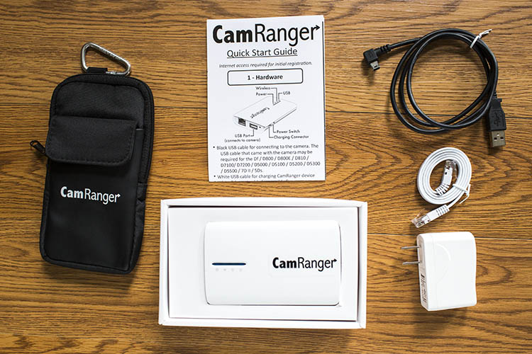 CamRanger Wireless Tethering