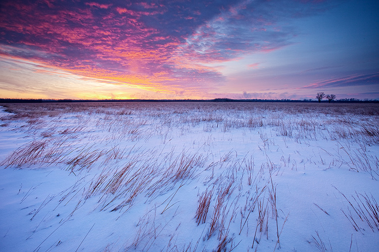 Tips for Winter Landscape Photography on the Prairie - Embrace the Sky 1