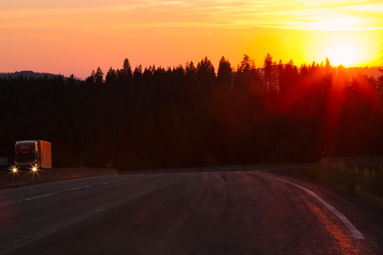 Sunrise along the Idaho border Memorable Jaunts Travel Photography Tips