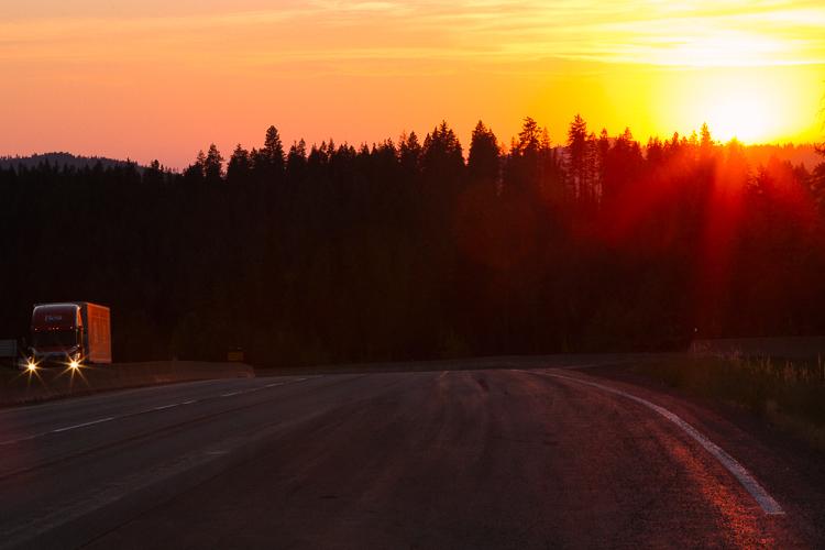 爱达荷州边界沿线的日出令人难忘的旅行摄影技巧