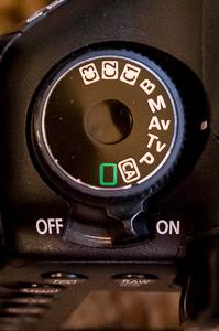 Shooting Mode Dial