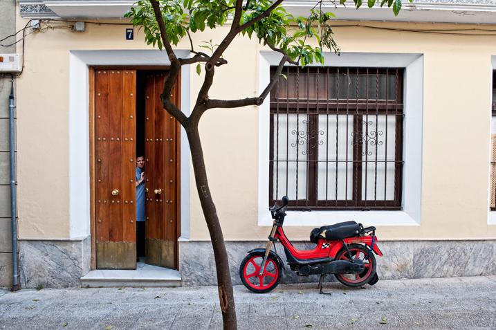 street photography portrait candid Jerez