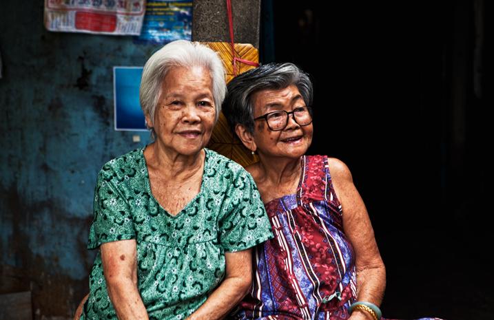 Street portraits Thailand