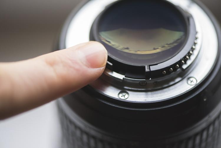 Check aperture used camera gear