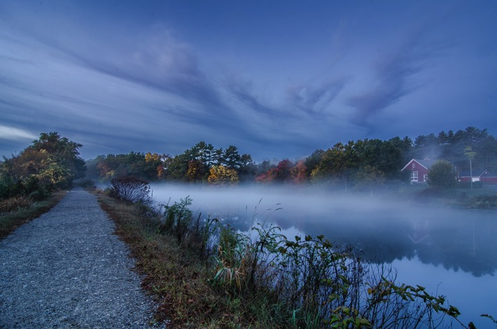 Leading line fog - The dPS Absolute Beginner's Guide to Photography