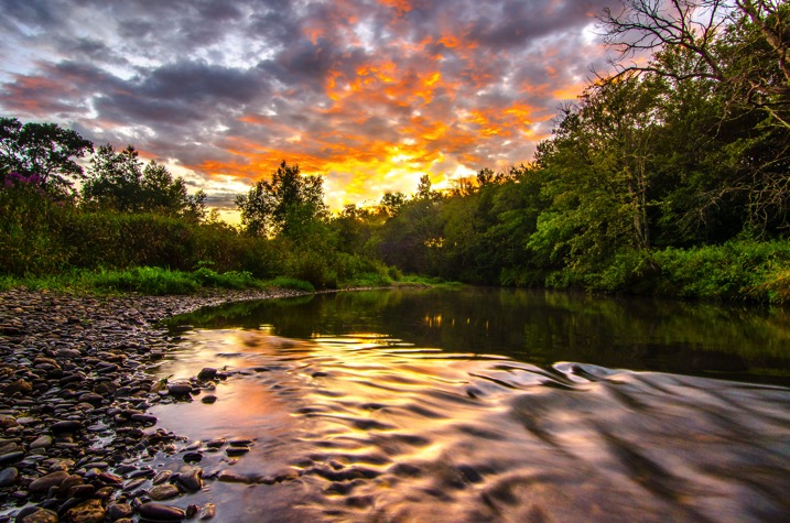 River sunset - The dPS Absolute Beginner's Guide to Photography
