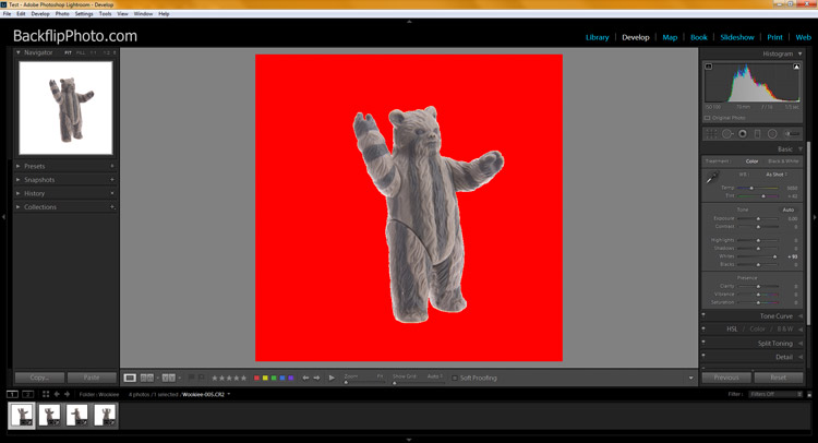 Studio product processing 14