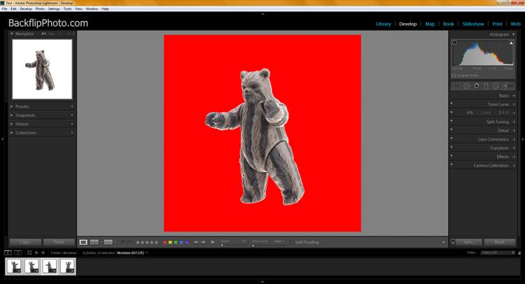 Studio product processing 17